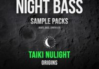 Splice Night Bass Presents Taiki Nulight Origins Sample Pack