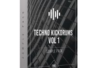 Production Music Live Techno Kickdrums Vol.1 WAV