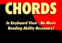 Piano Chords In Keyboard View