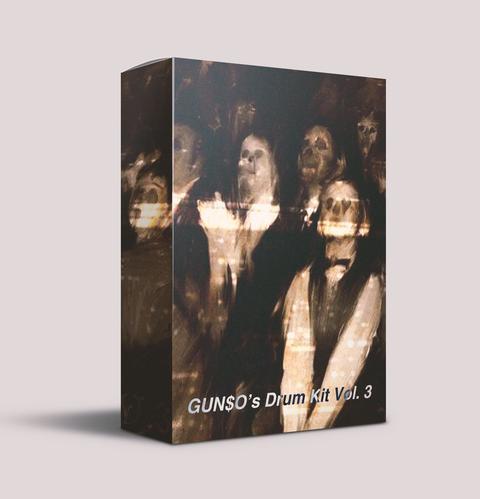 Gunso Drum Kit Vol.3 WAV FLP FST