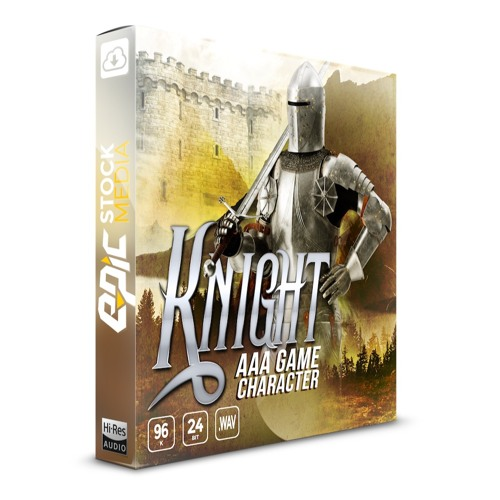 Epic Stock Media AAA Game Character Knight WAV