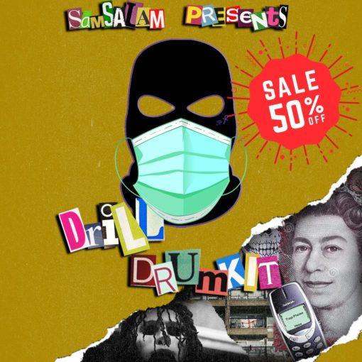 Sam Salam Drill Drum Kit WAV MIDI