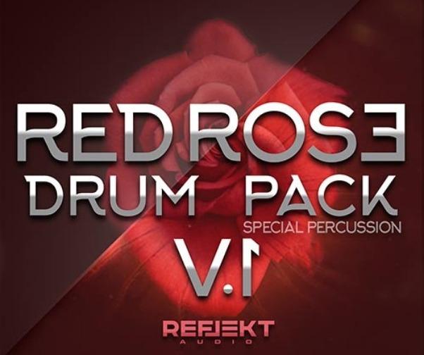 Reflekt Audio Red Rose Drum Pack WAV