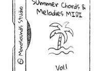 Summer Chords & Melodies MIDI Vol.1 WAV MIDI