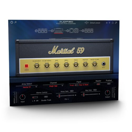 Audified AmpLion 2 Rock Essentials v2.0.0 WIN