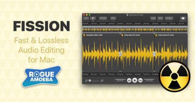 Rogue Amoeba Fission v2.7.1 MacOS