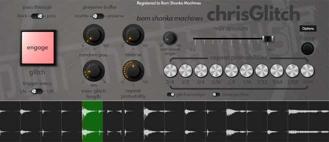 Bom Shanka Machines chrisGlitch v1.0.18 WIN MacOS