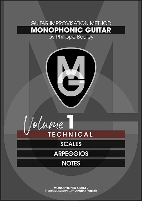 MG Publishing Philippe Bouley Monophonic Guitar Vol. 1 Technical PDF